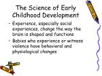 the science of early childhood development10