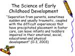 the science of early childhood development11