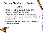 young children in foster care14