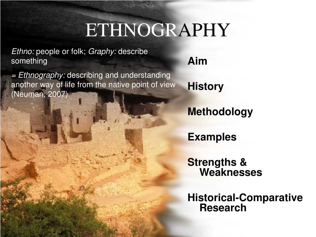 ethnogr aphy l.