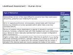 likelihood assessment human error45