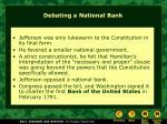 debating a national bank7