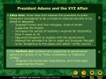 president adams and the xyz affair16