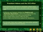 president adams and the xyz affair17