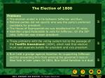 the election of 180021