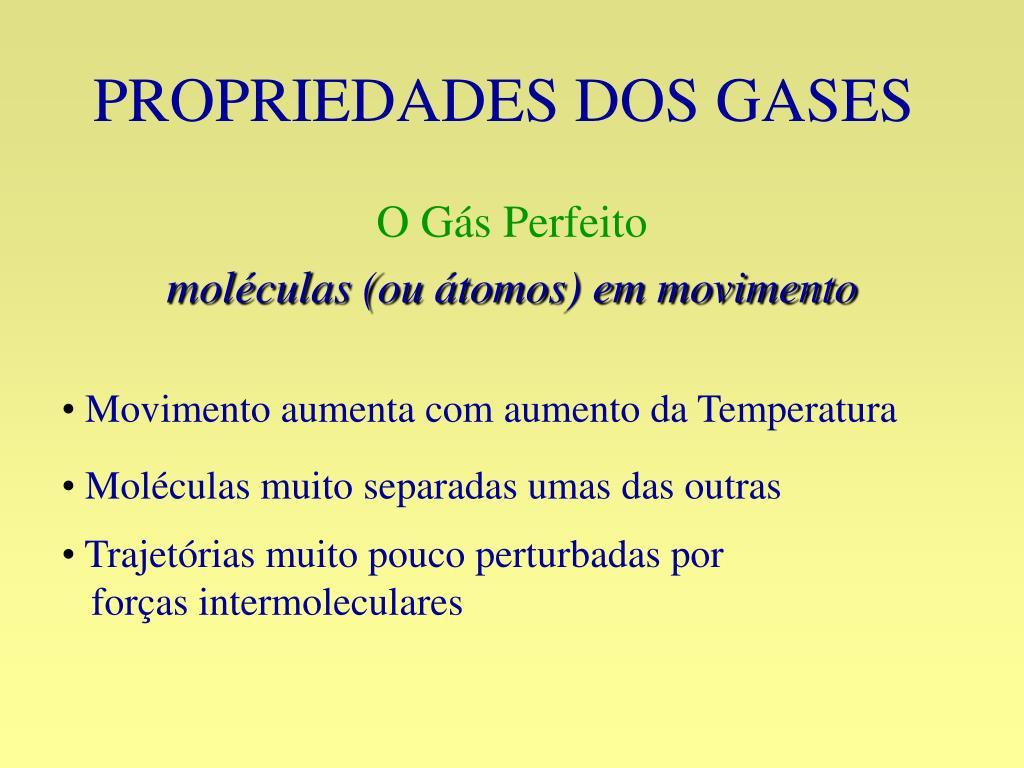 propriedades dos gases l.