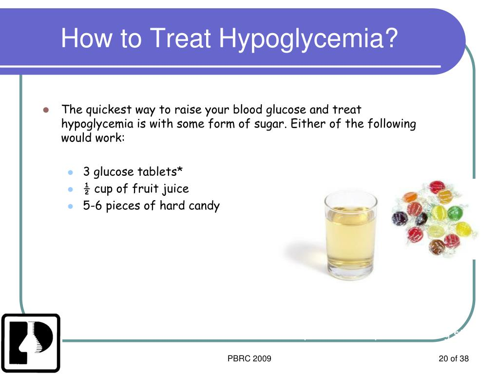 How to Treat Hypoglycemia?