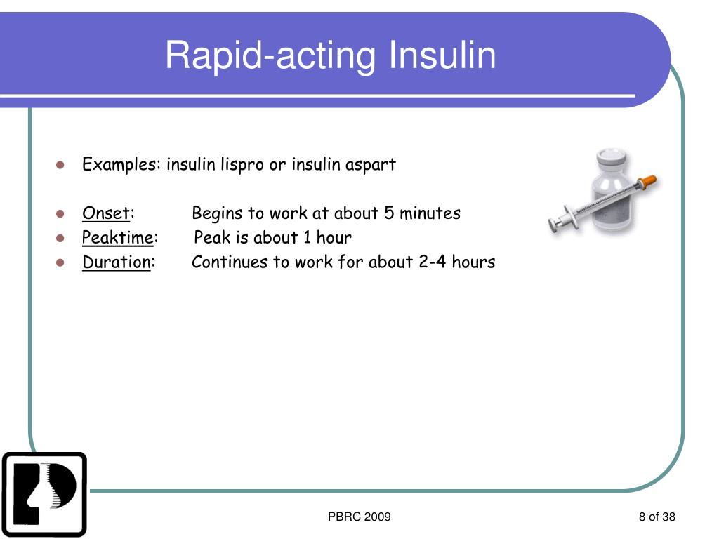 Rapid-acting Insulin