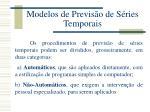modelos de previs o de s ries temporais
