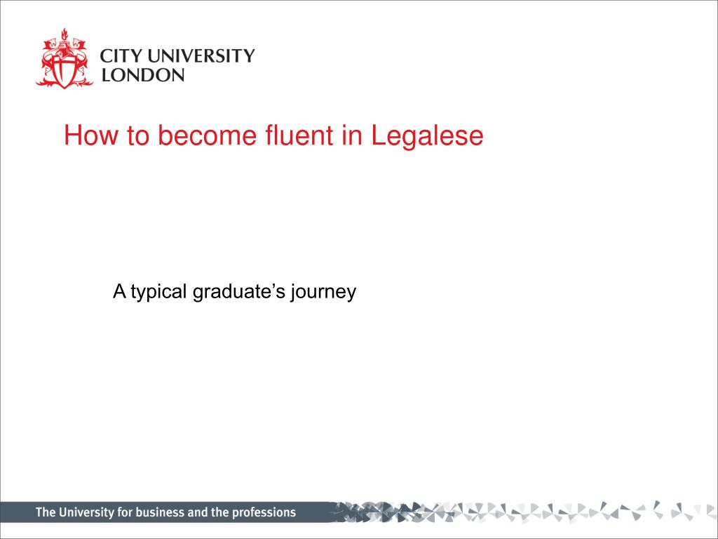 how to become fluent in legalese l.