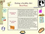 eating a healthy diet meal plans