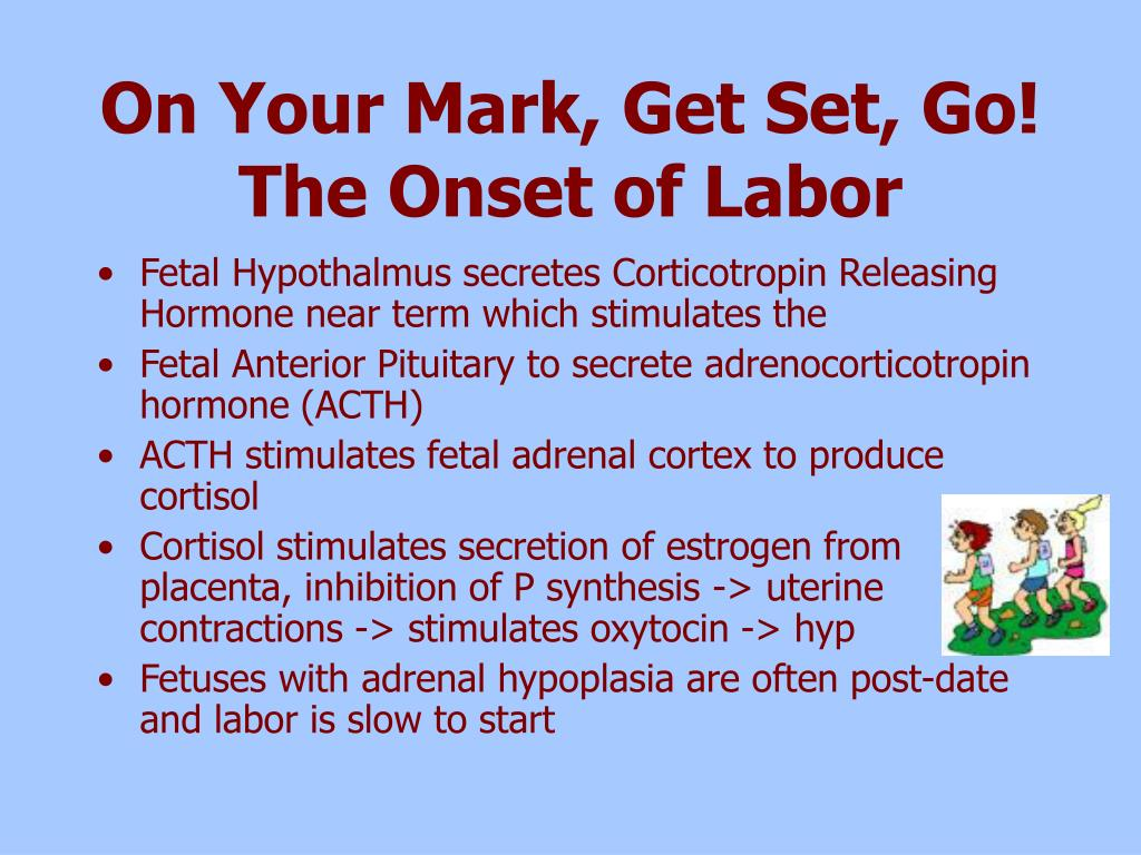 On Your Mark, Get Set, Go! The Onset of Labor