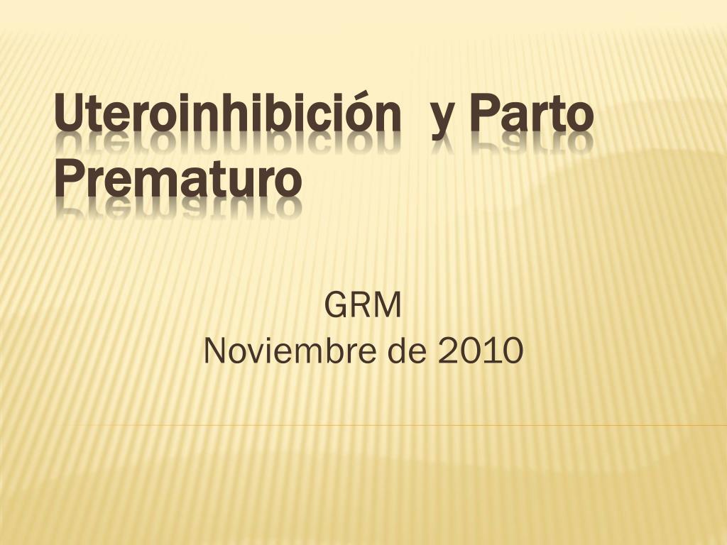 grm noviembre de 2010 l.