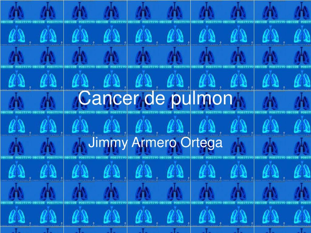 cancer de pulmon l.