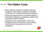 the hidden costs