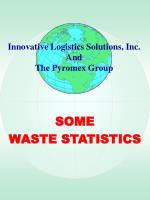 some waste statistics