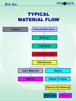 typical material flow