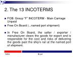2 the 13 incoterms12