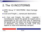 2 the 13 incoterms13