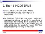 2 the 13 incoterms21