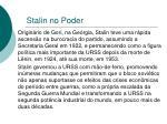 stalin no poder