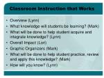 classroom instruction that works2
