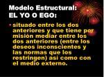 modelo estructural el yo o ego