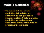 modelo gen tico