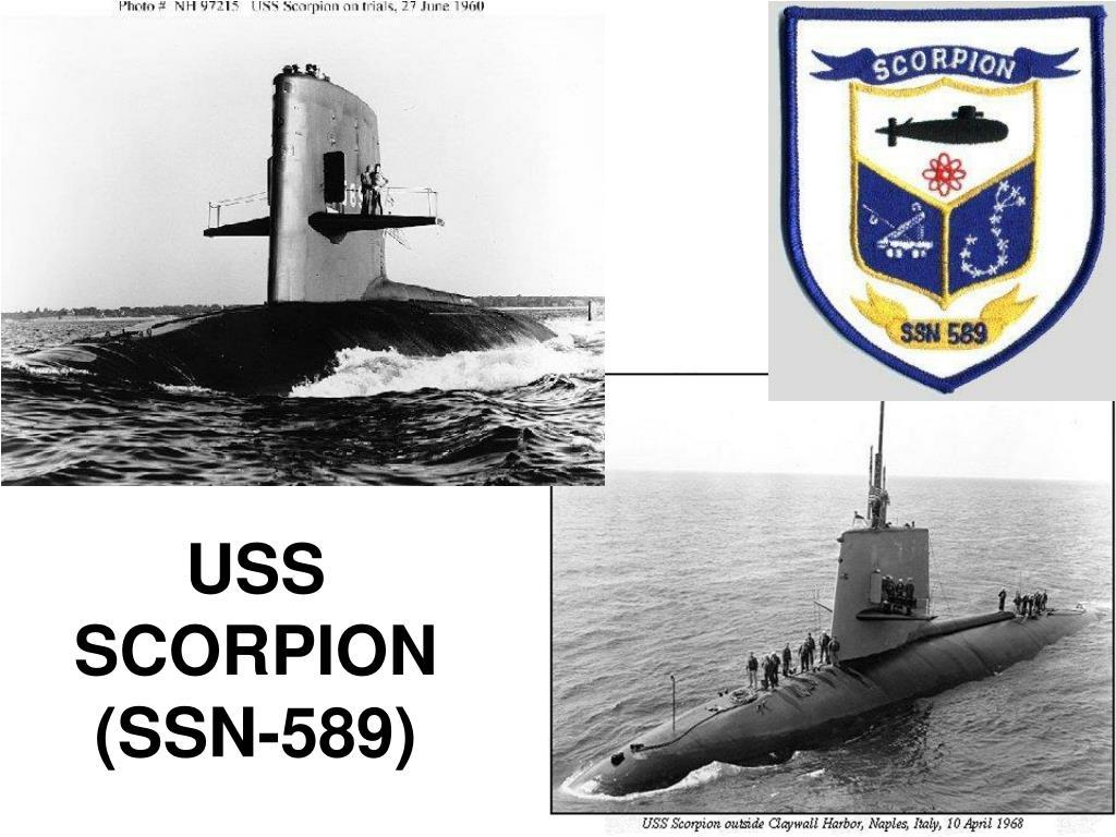 USS SCORPION (SSN-589)