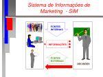 sistema de informa es de marketing sim