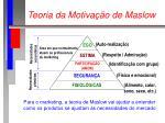 teoria da motiva o de maslow41