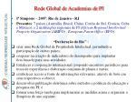 rede global de academias de pi34