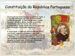 constitui o da republica portuguesa