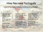 hino nacional portugu s