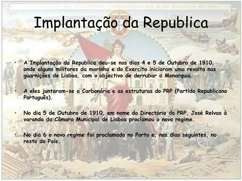 implanta o da republica l.