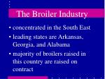 the broiler industry6