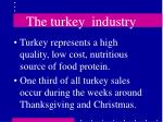 the turkey industry40