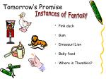 tomorrow s promise