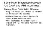 some major differences between us gaap and ifrs continued22
