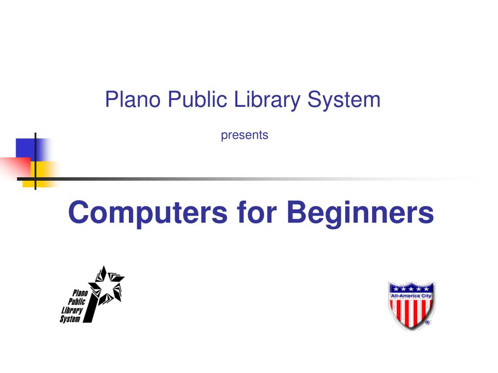 computers for beginners l.
