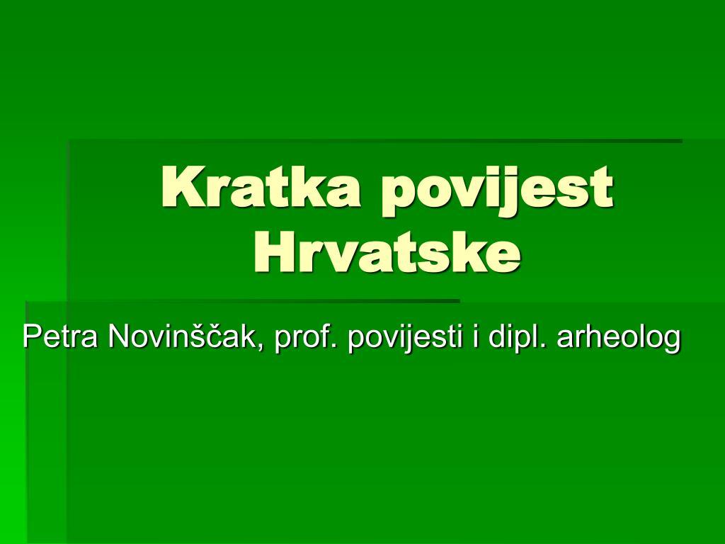 kratka povijest hrvatske l.
