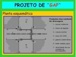 projeto de gap