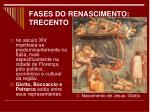 fases do renascimento trecento