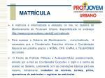 matr cula5