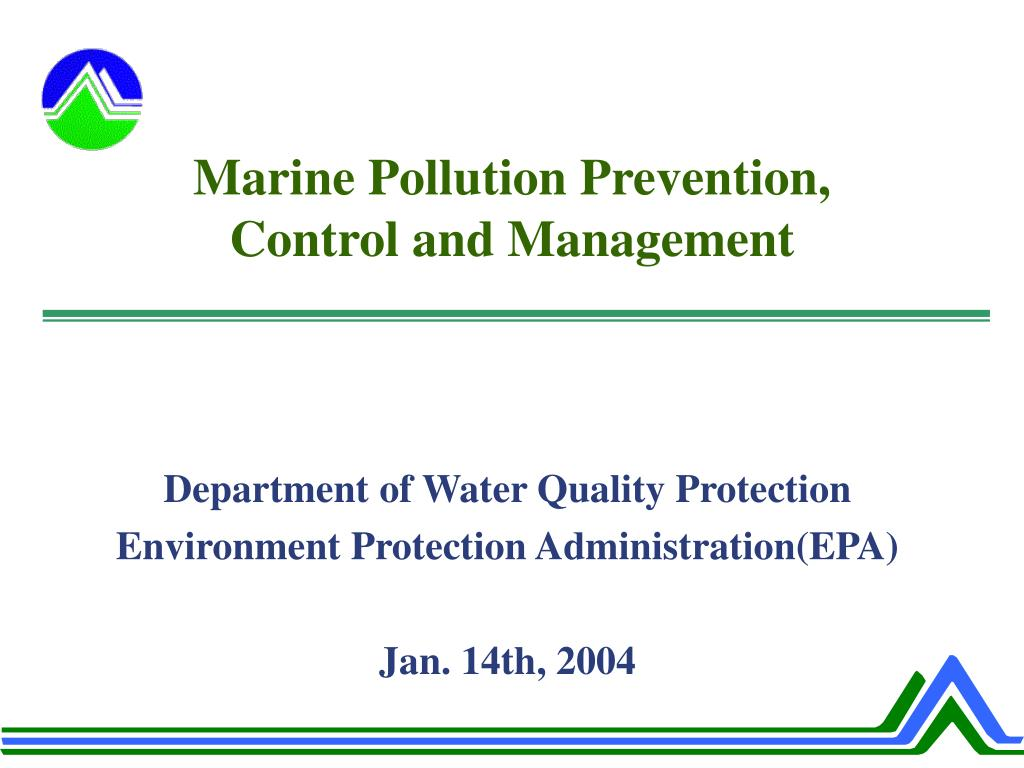 marine pollution prevention control and management l.
