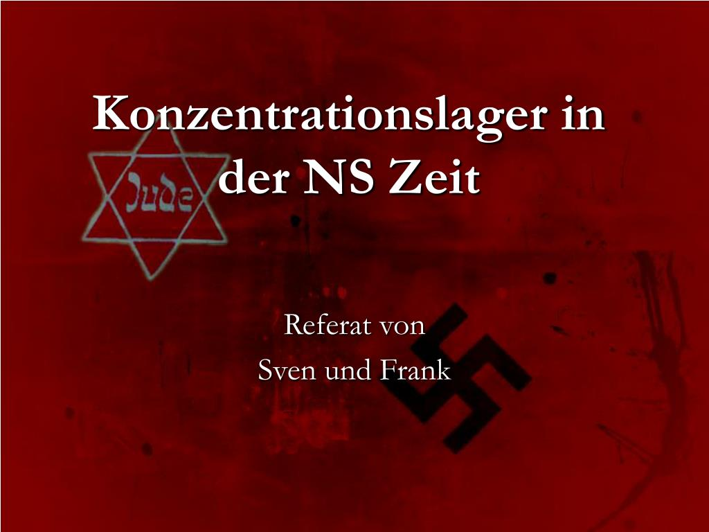 konzentrationslager in der ns zeit l.