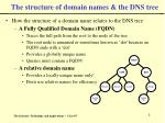 the structure of domain names the dns tree8