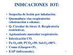 indicaciones iot