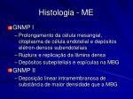 histologia me