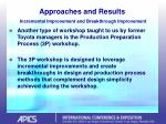 approaches and results incremental improvement and breakthrough improvement45